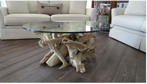 Superb Round Driftwood Coffee Table Uwap Interior Chair Design Uwaporg