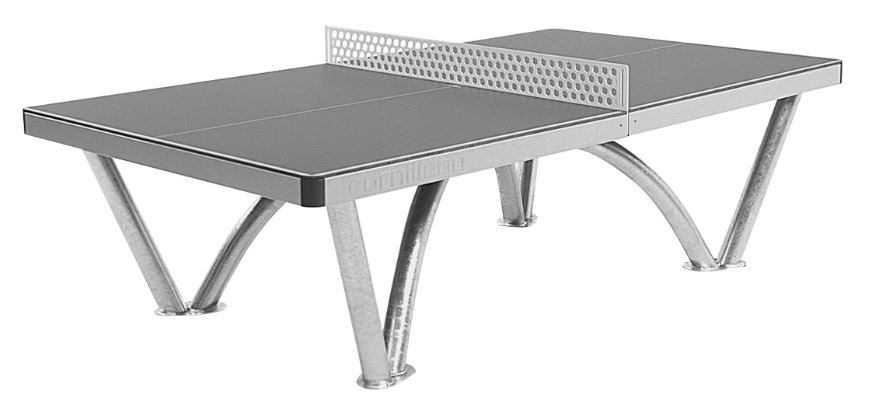 Cornilleau Park Outdoor Gray Table Tennis Table Ping Pong 61603ebe0657