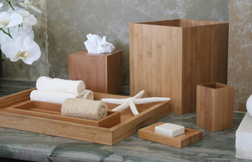 Bali Bamboo Bathroom Accessories Collection